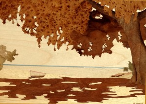 Anguilla Beach 45 x 36 cm