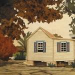 Anguilla Creole House 58 x 30 cm