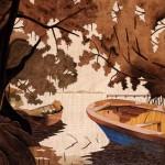 Anse à la Barque  51 x 46 cm