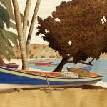Baie des Pêcheurs 46 x 38 cm