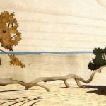 Baie du Gallion 25 x 17 cm