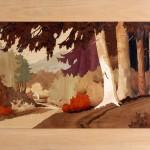 Maison Forestière  90 x 54 cm