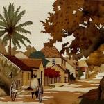 Rue des Tamariniers 58 x 43 cm