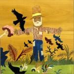 Scarecrow  58 x 56 cm