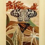 Duo Papillon   21 x 16,5 inch