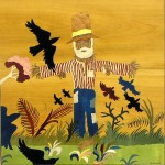 Scarecrow  23 x 22 inch