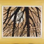 Surface Ondée  20,5 x 17,5 inch